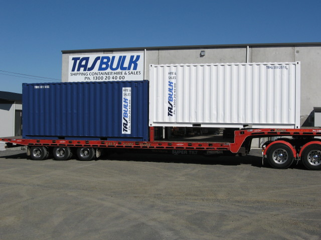 Our shipping container for sale in Tasmania