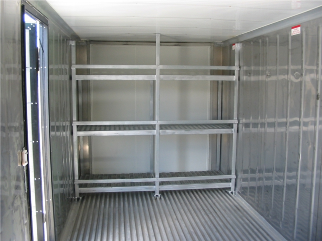 refrigerated shelving large