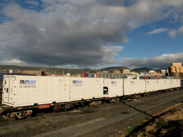 tasbulk reefers rail